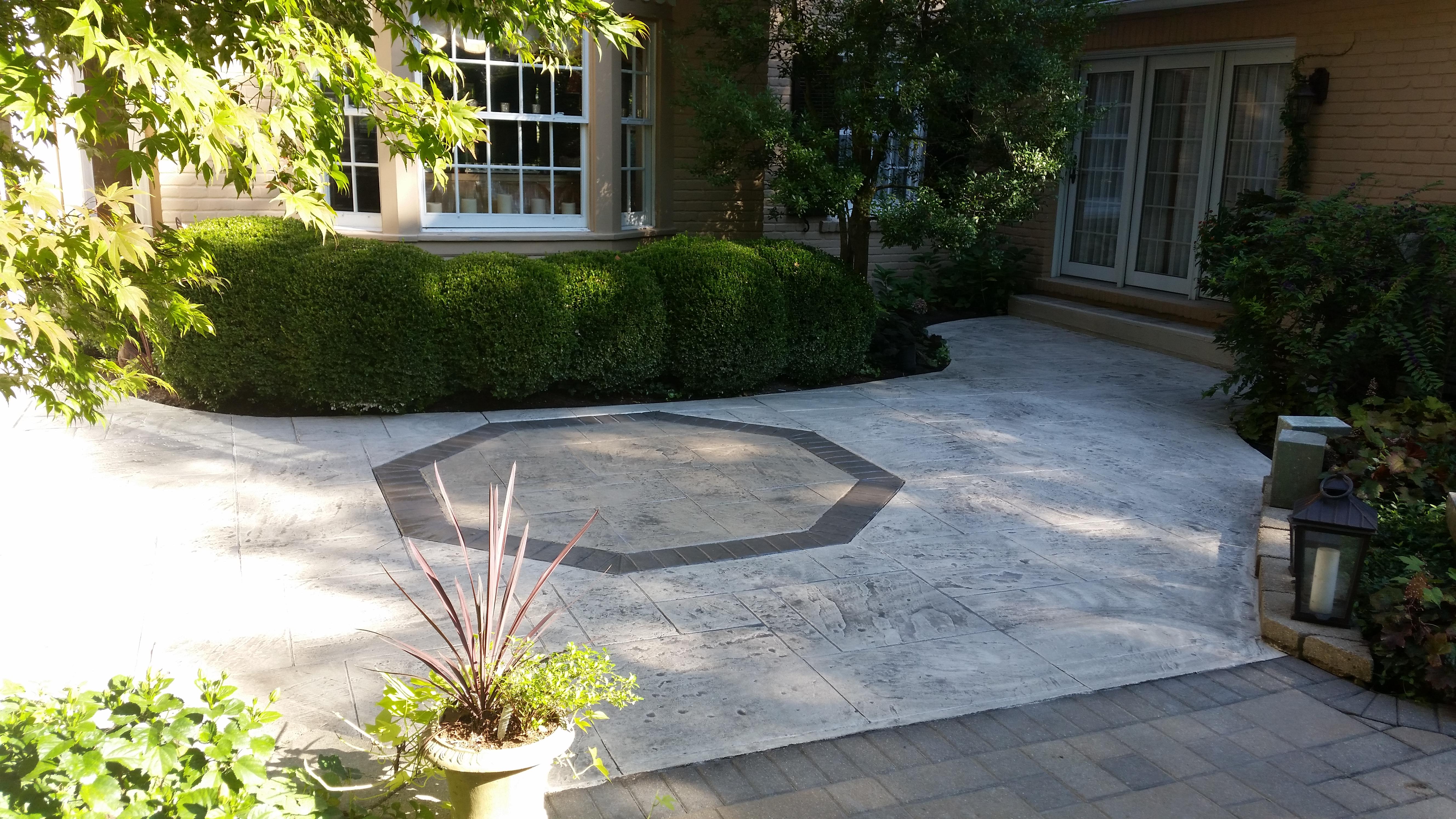 Decorative Concrete Restoration In Cincinnati – Stamped
